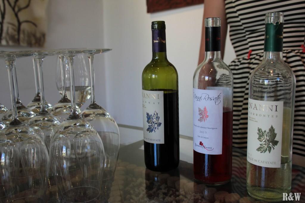 Petite dégustation matinale Ruta del Vino