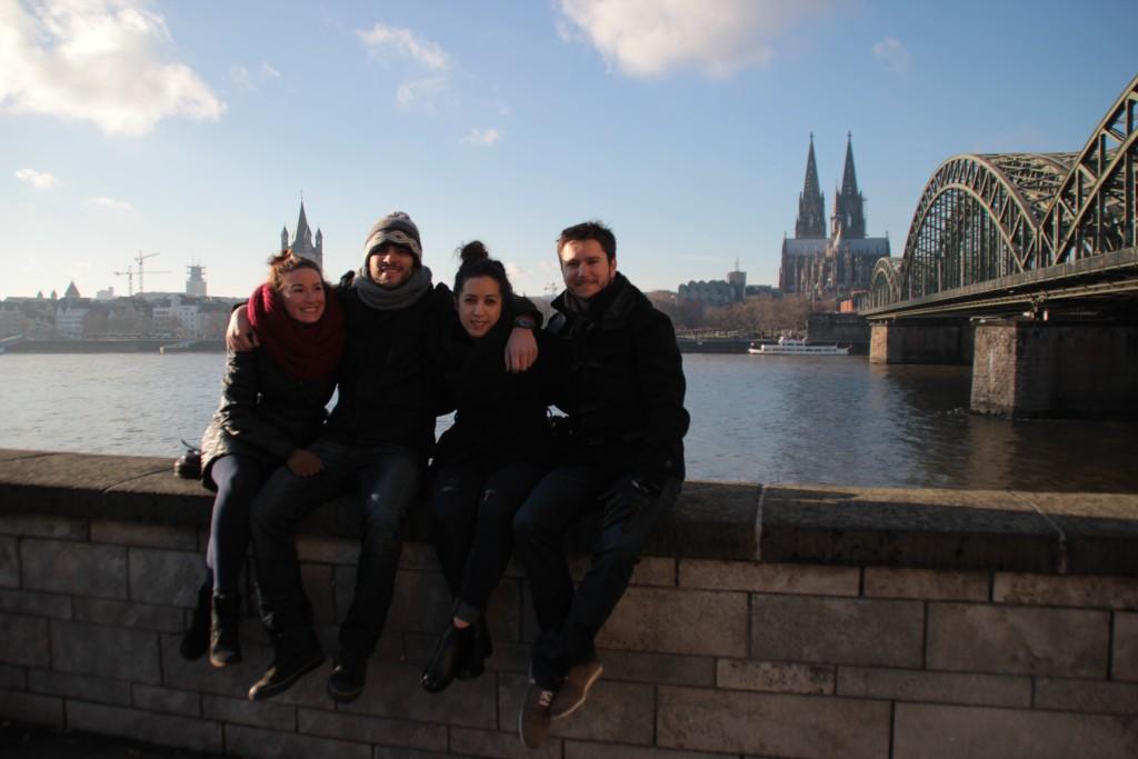 Cologne avec Stav et Juliane