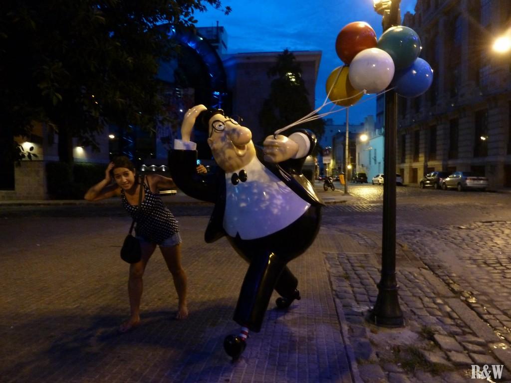 Arou à Buenos Aires, promenade nocturne