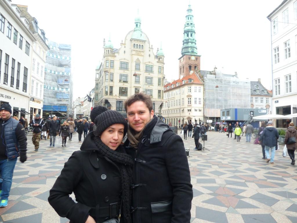 Arou et Flo dans le froid nordique danois